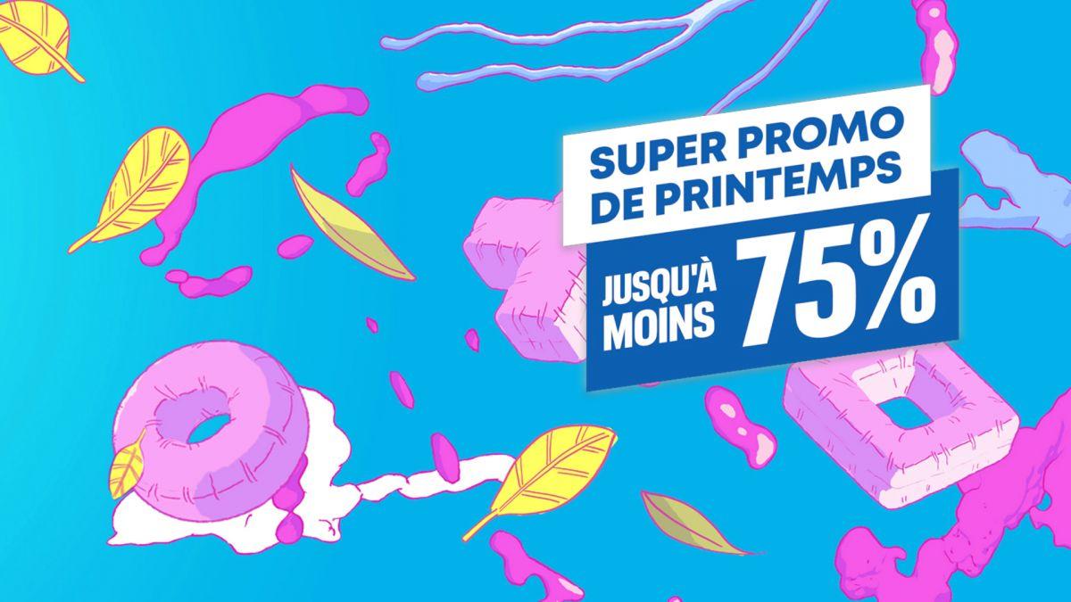 image de l'offre Super promo de Printemps, jusqu'à -75% !