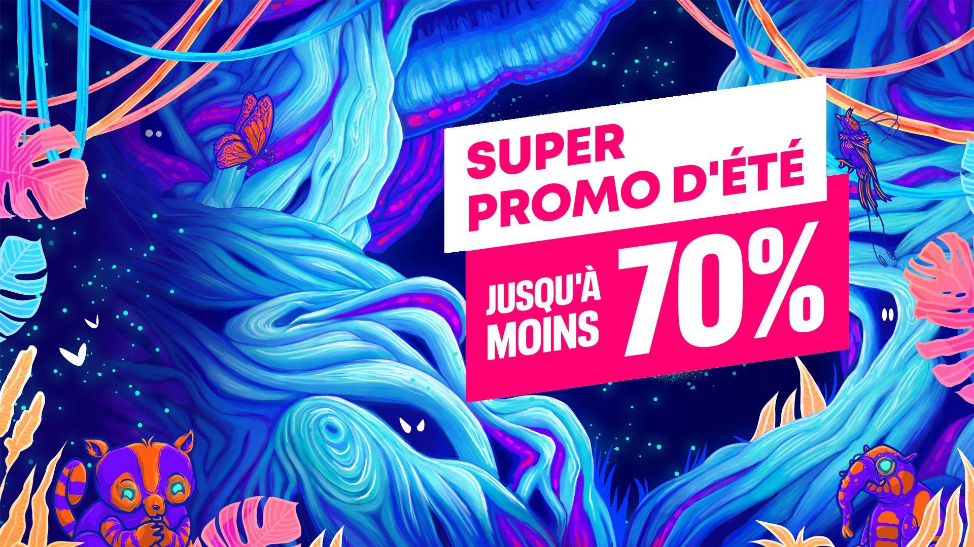 Super Promo d'été : Jusqu'à -70% !