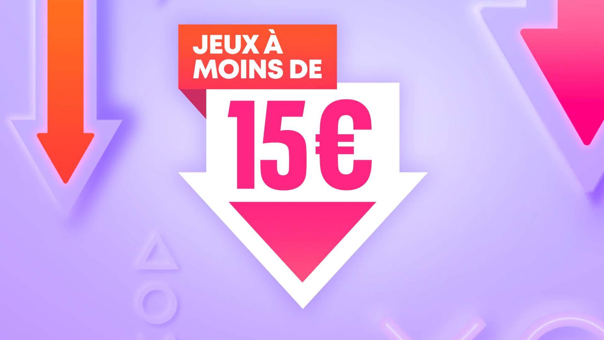 Des centaines de jeux à moins de 15€ !