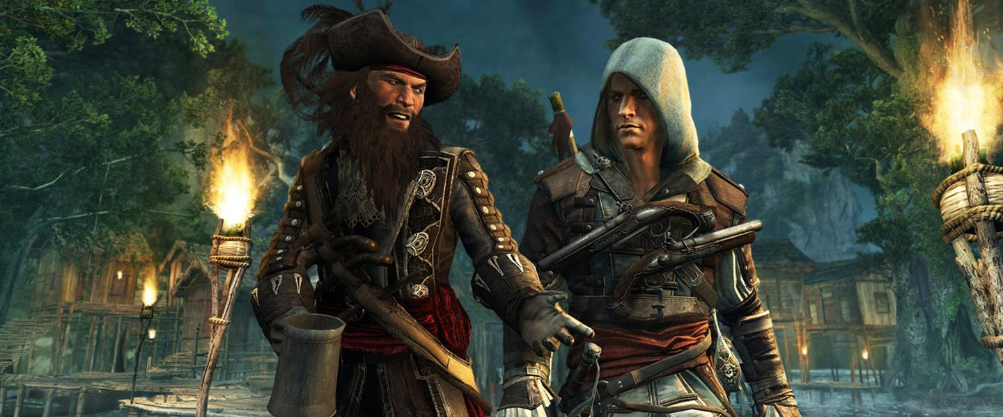 Assassin's Creed 4 : Black Flag (PS4)
