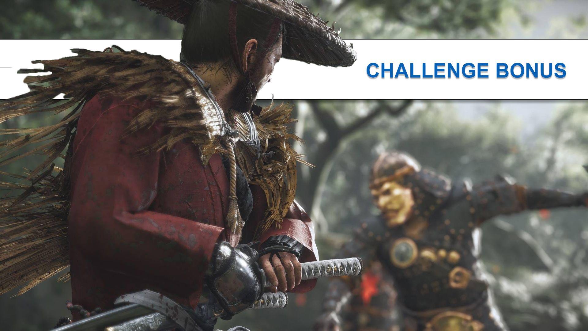 CHALLENGE BONUS : LÉGENDE VIVANTE
