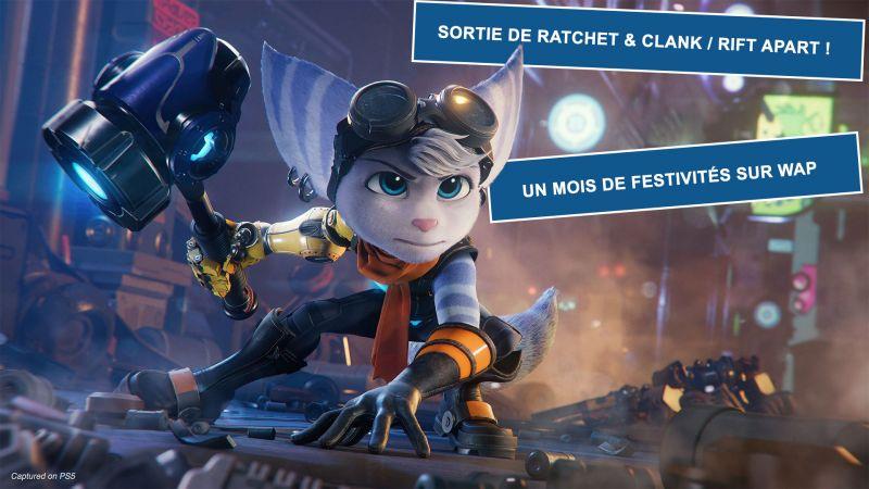 """""""Ratchet & Clank : Rift Apart"""" : Plus d'un mois de festivités !"""