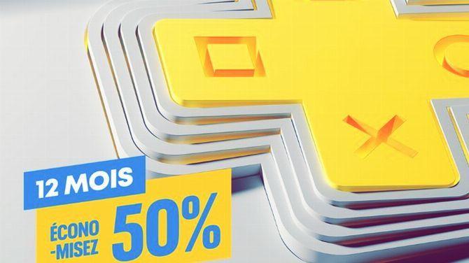PlayStation Plus : Réduction de 50% sur l'abonnement 12 mois pour une durée  limitée